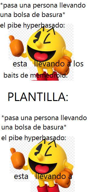 estan llevando a este meme. :> PD: plantilla nueva numero 2.