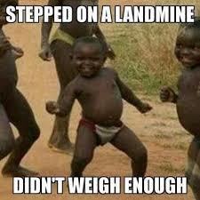 Landmine - meme