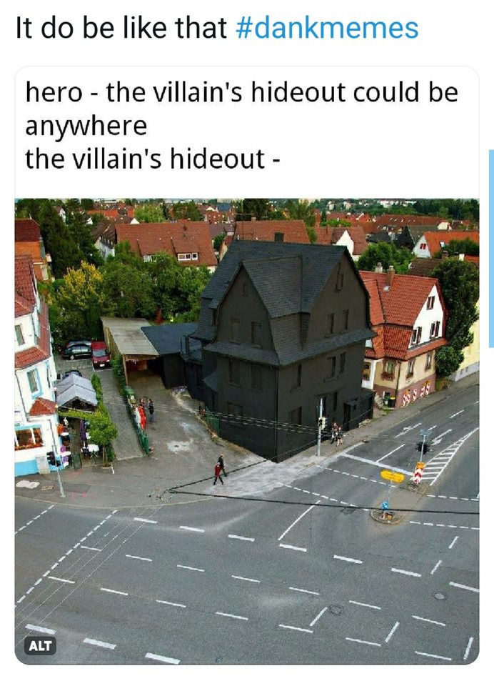 The Villain's Hideout really do be like this - meme