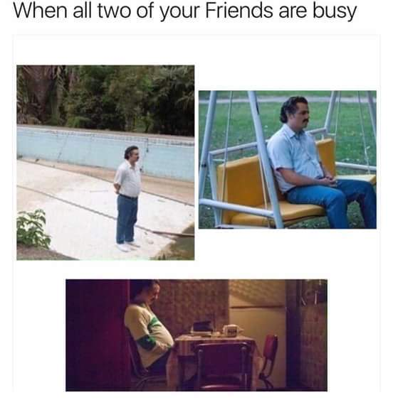 Title is lonely - meme
