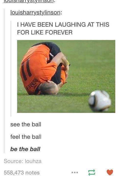 I'm the ball - meme