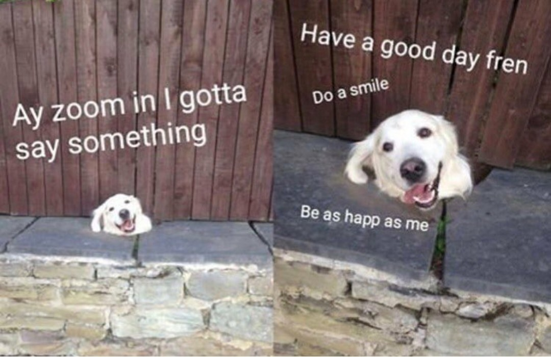 Do me a smile - meme