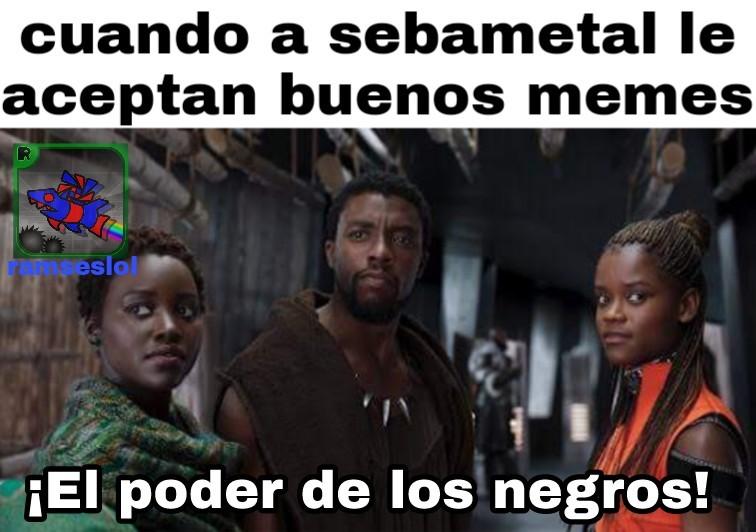 ¡Ser negro es lo máximo! - meme