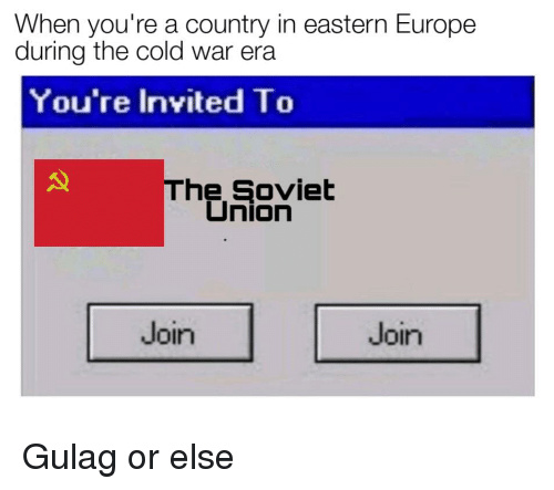 Join me Comrade! - meme