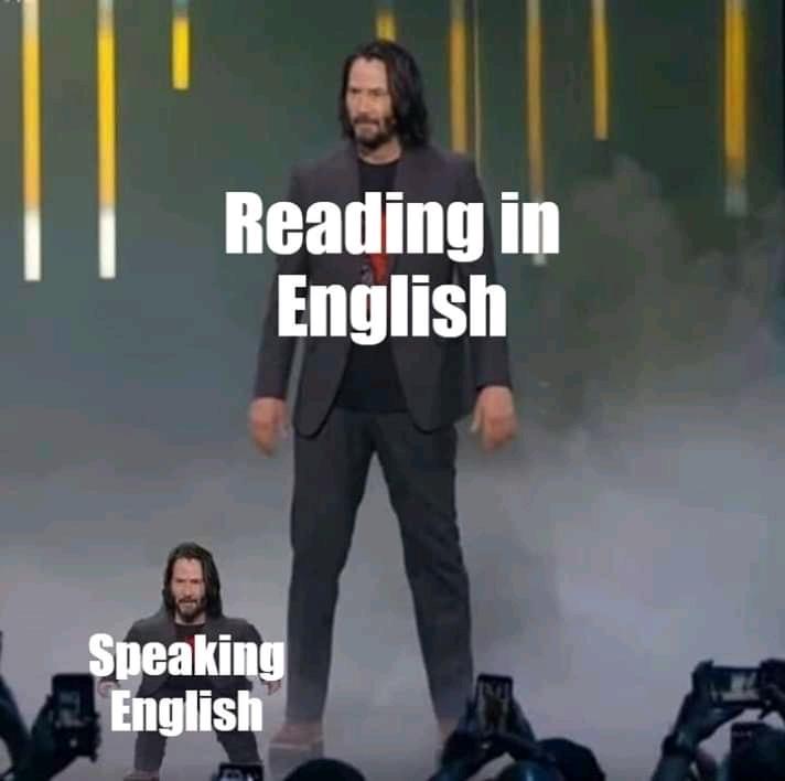 menes em inglês - meme