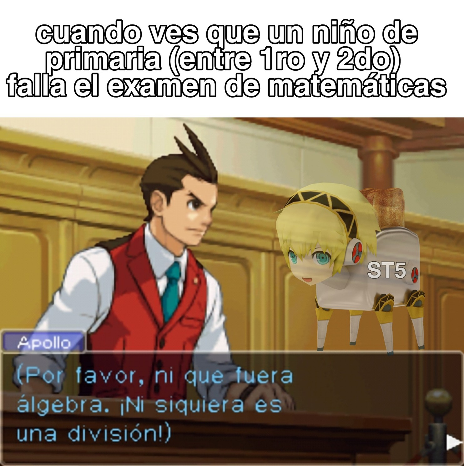 Juego: ace attorney:apollo justice - meme