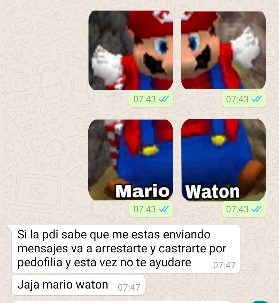 Mario Waton - meme