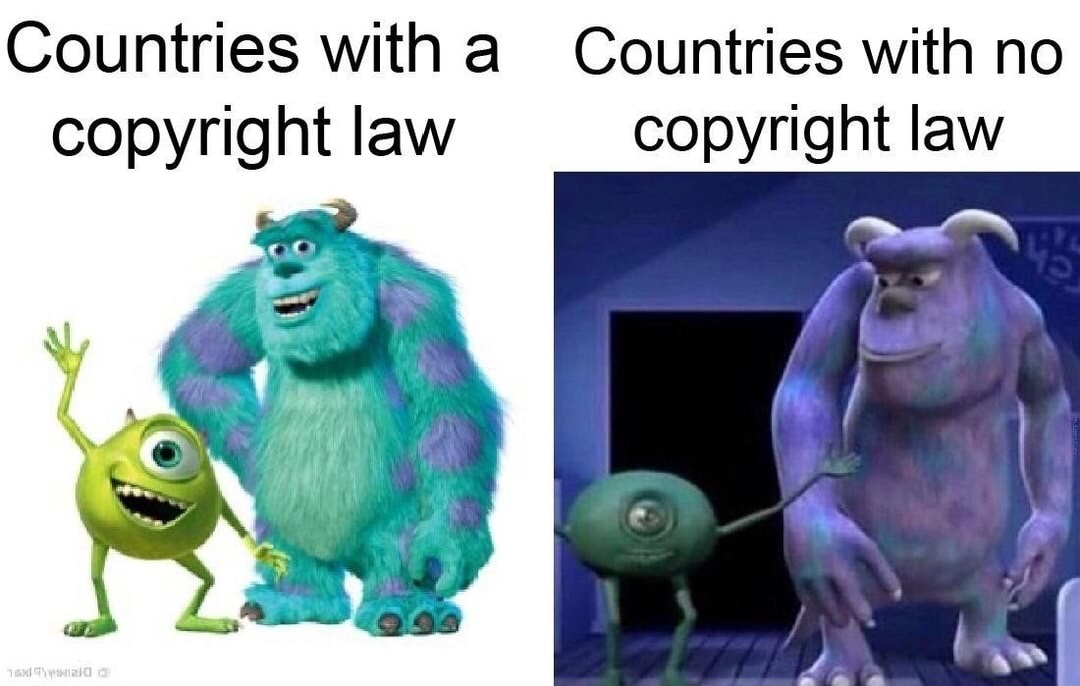 I've seen the one on the right - meme