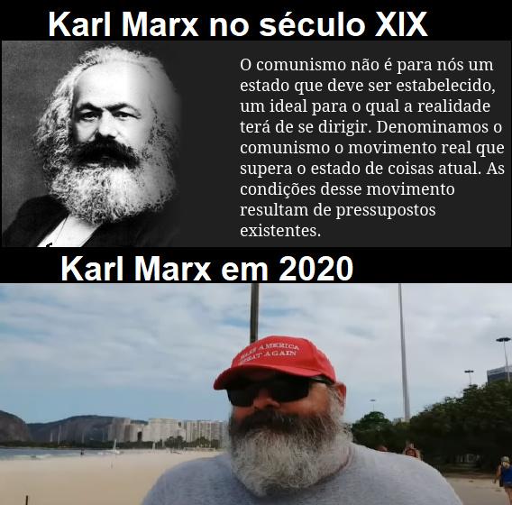 Carlos Marques trumpista fodase - meme
