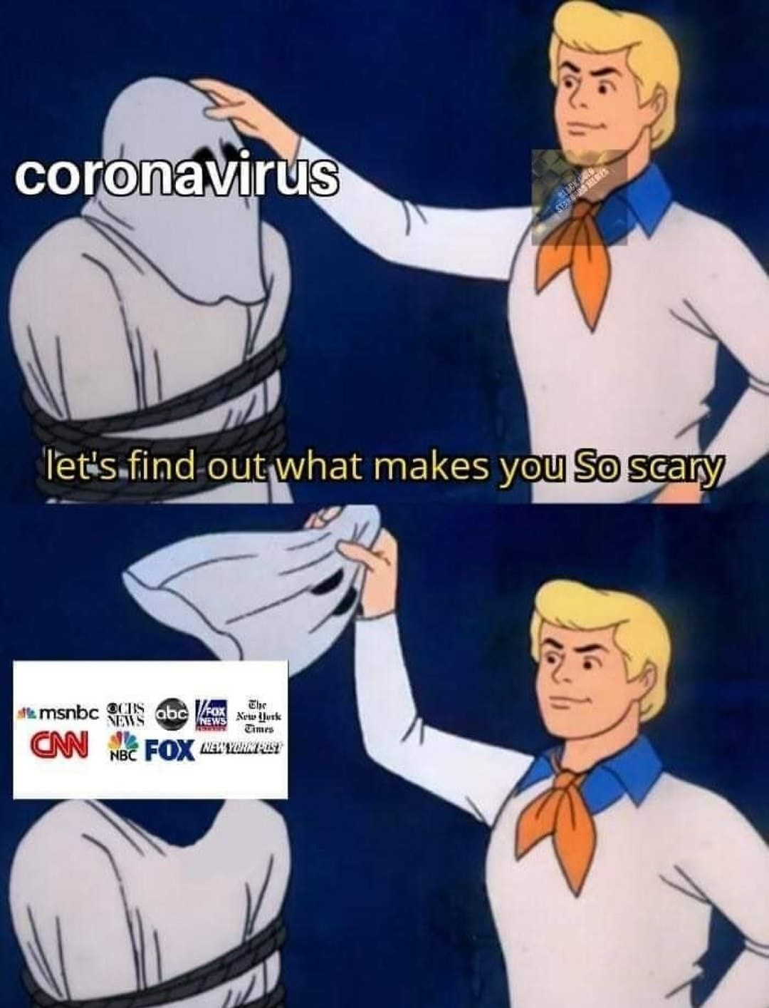 Corona is stupid. We have 6 different cures and a vaccine on the way... wtf - meme