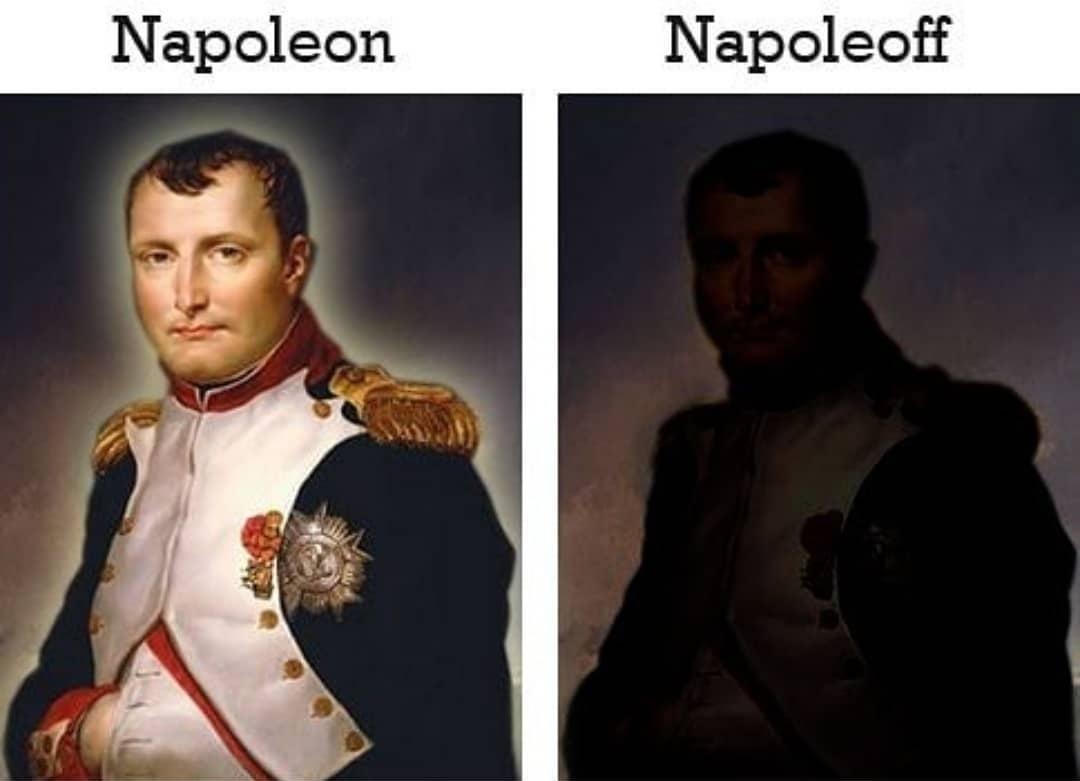 Napoligado / Napodesligado - meme