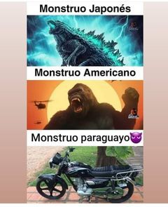 monstruo paraguayo PD: si aceptan este meme hare un face revel