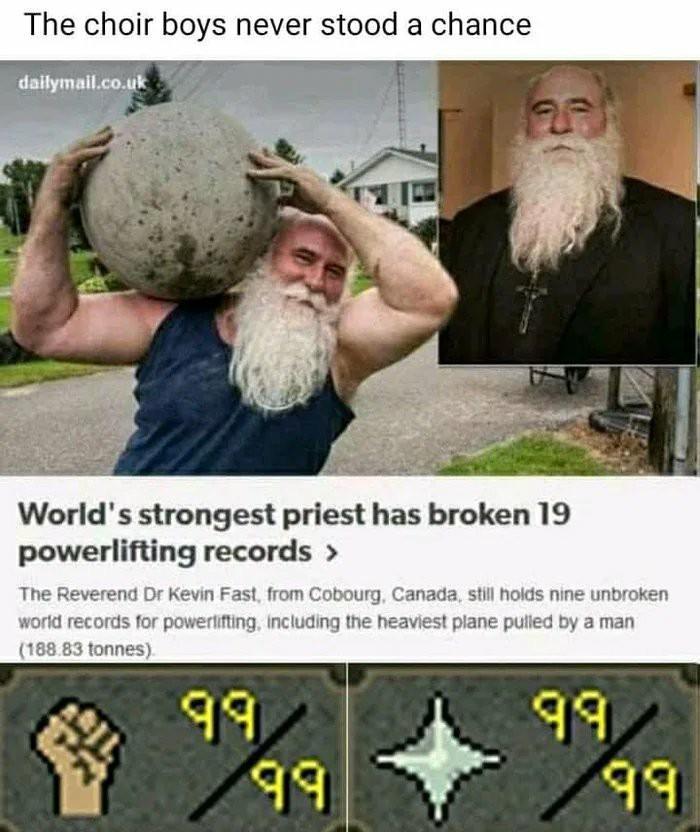 300% holy damage - meme