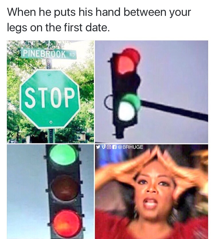 yes! stop! go! no! - meme