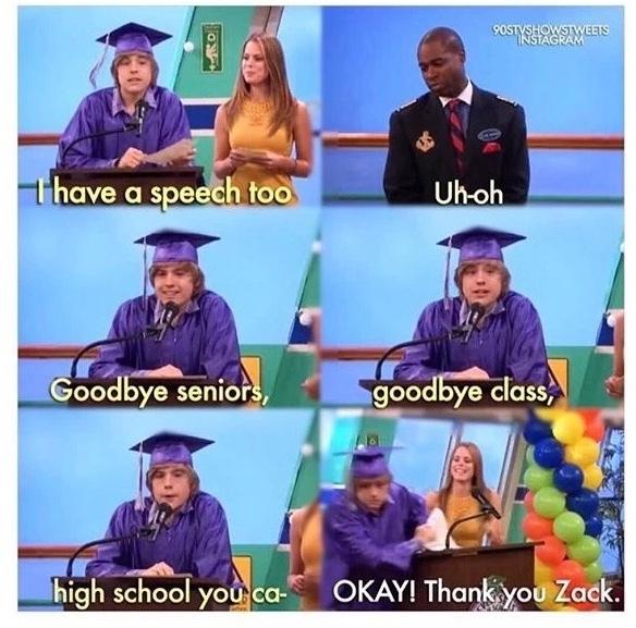 OKAY! Thank you, Zack. - meme
