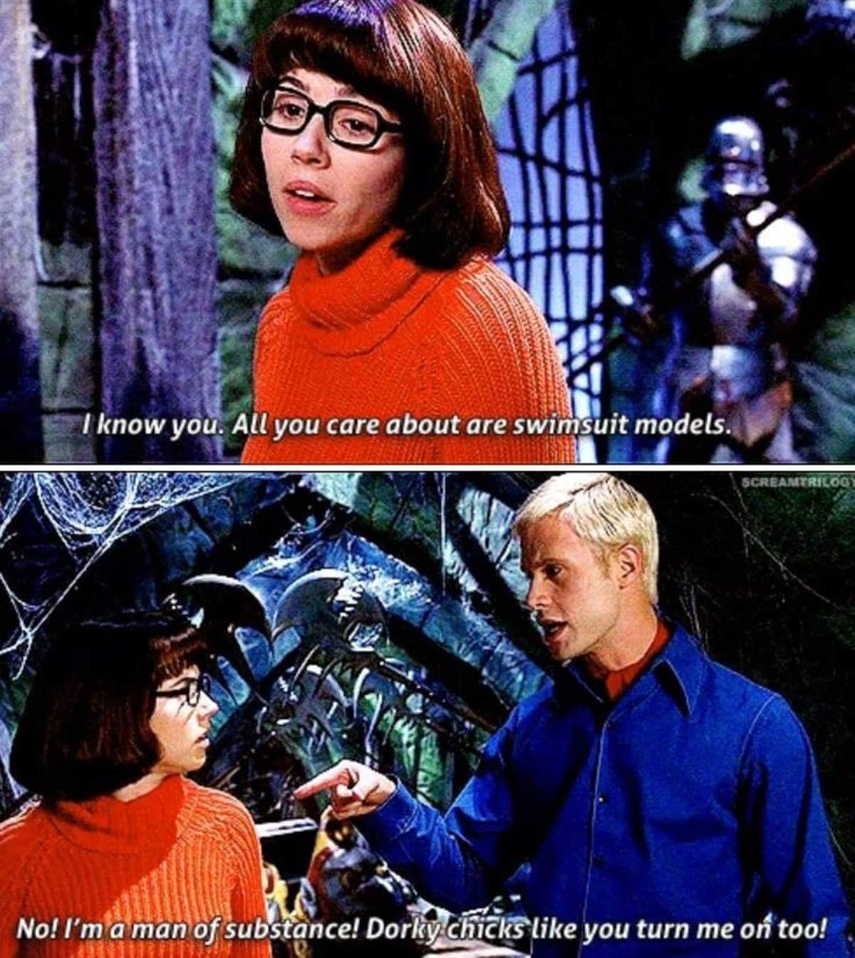 Scooby Doo was underrated - meme