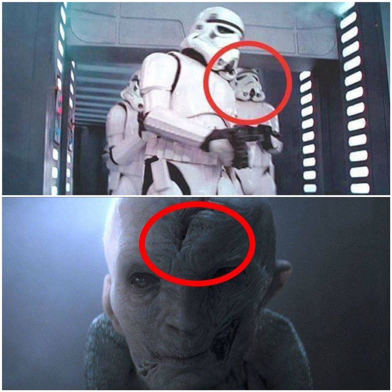 Snoke's identity confirmed? - meme