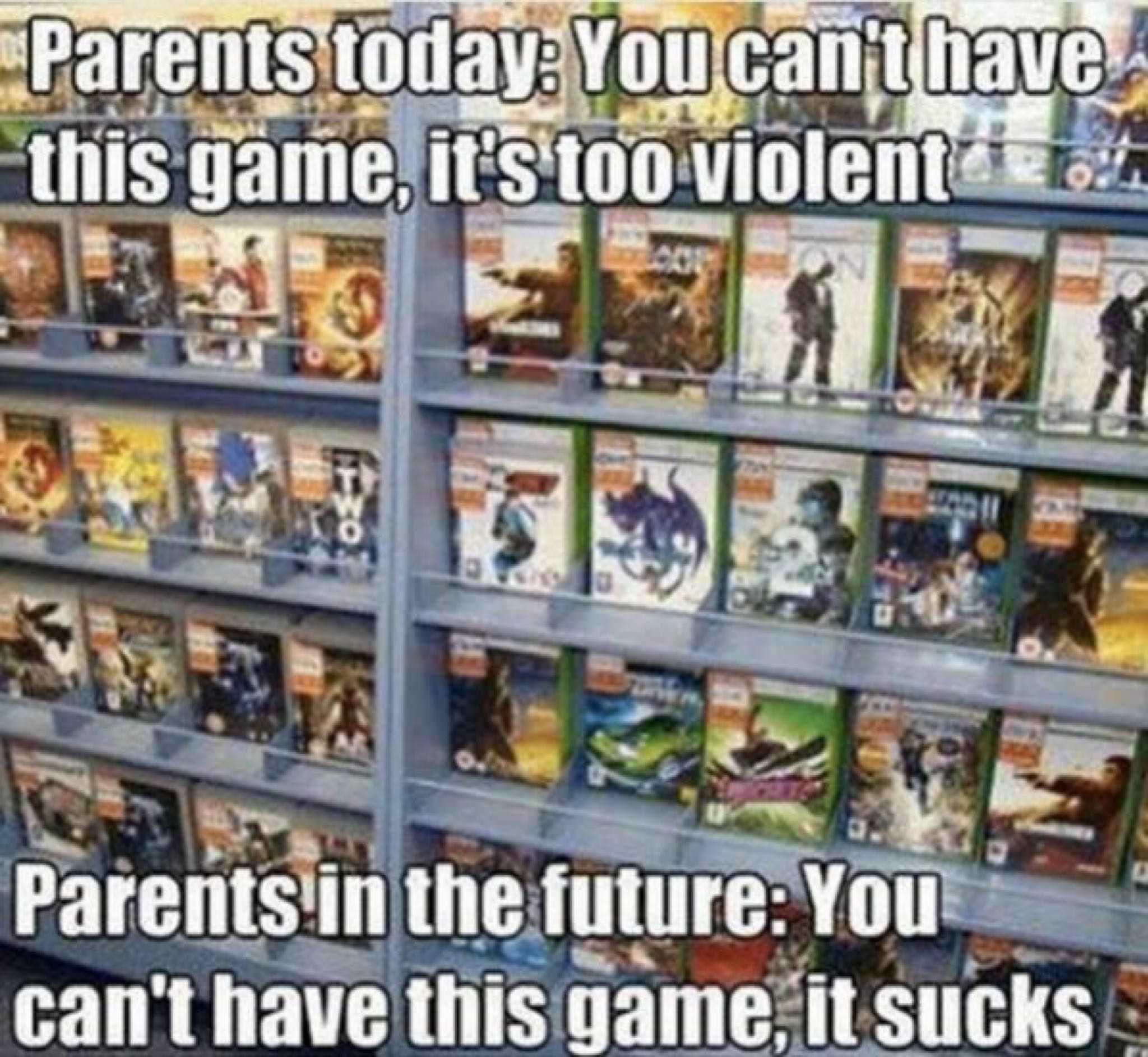 Parents of the future - meme