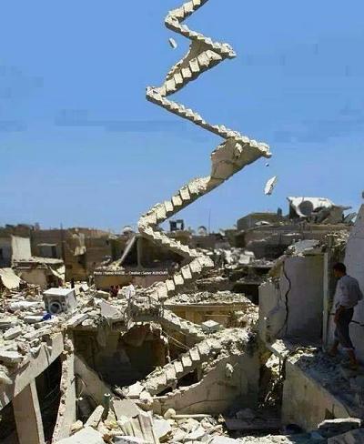 Quand tu es a GAZA et que tu joue a fortnite entre 2 bombardements - meme