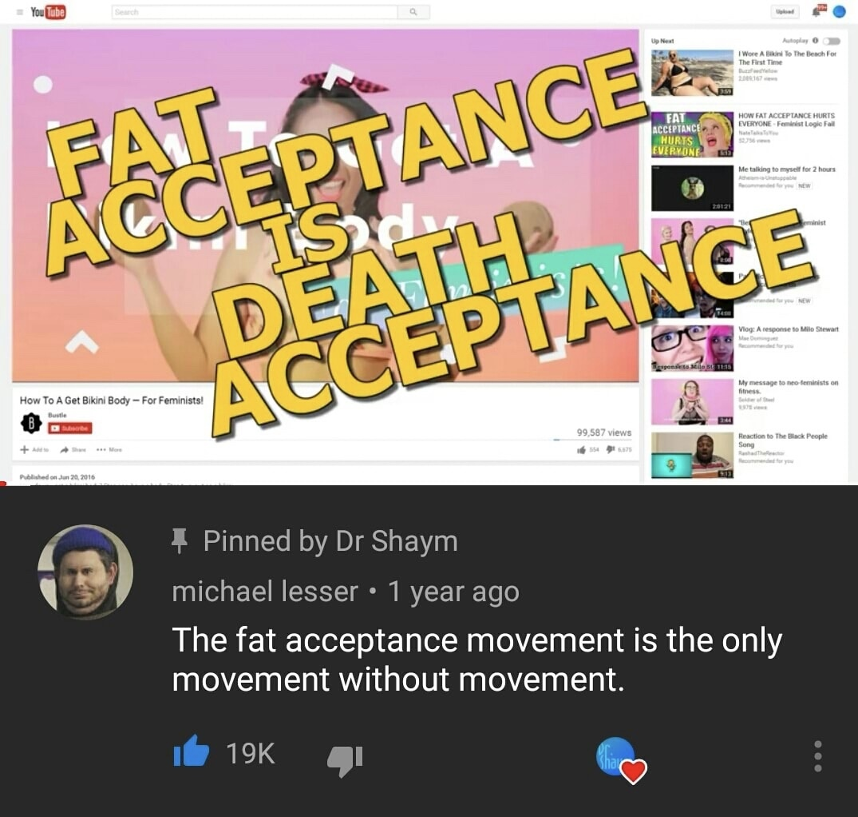 YouTube fat - meme