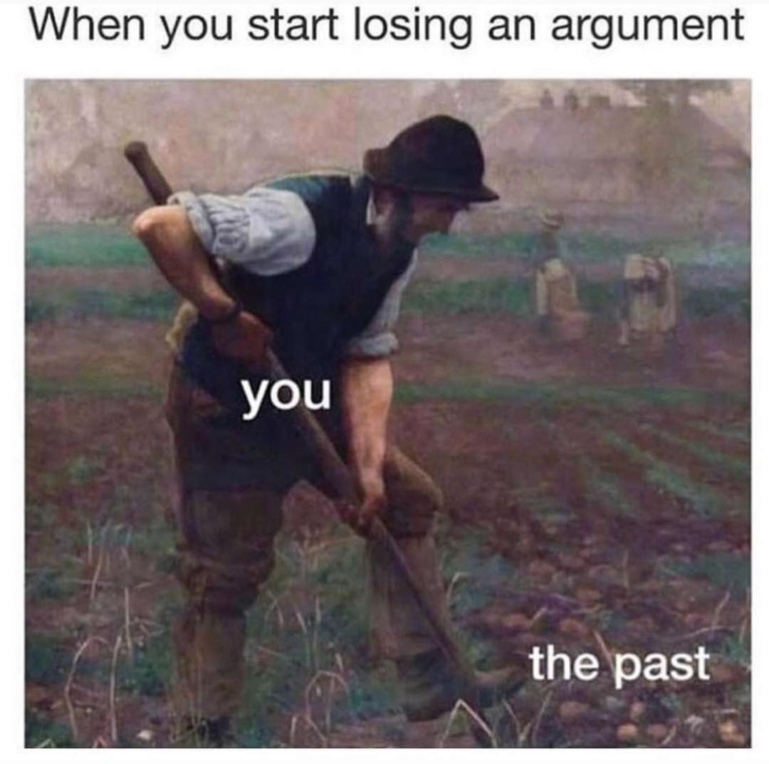 Digging - meme