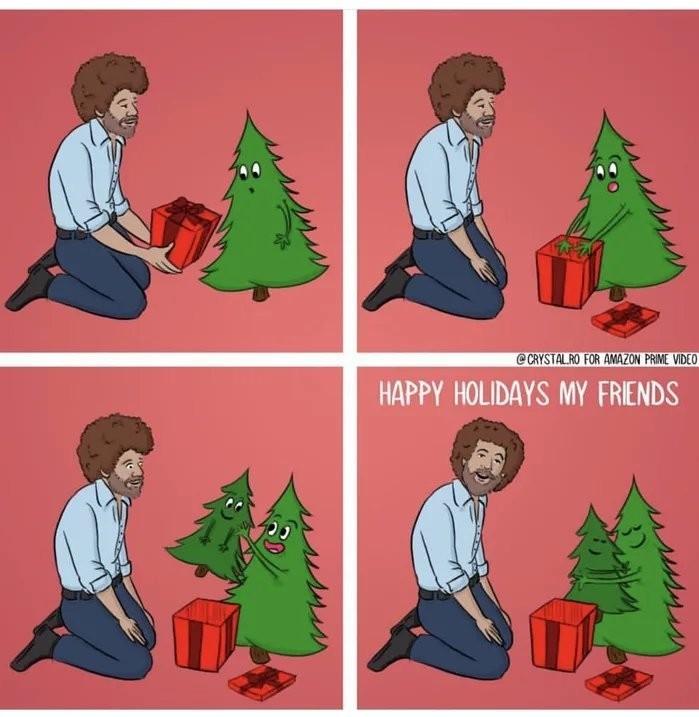 I'm back. I love y'all, happy holidays :) - meme