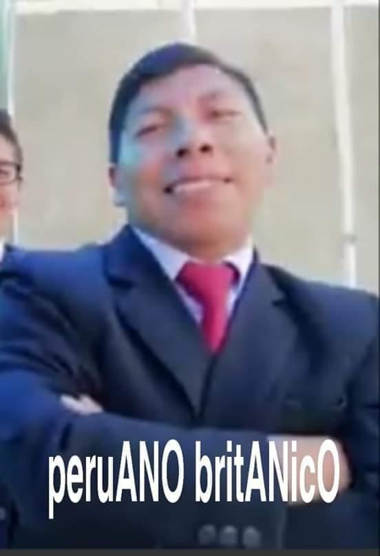 peruano britanico - meme
