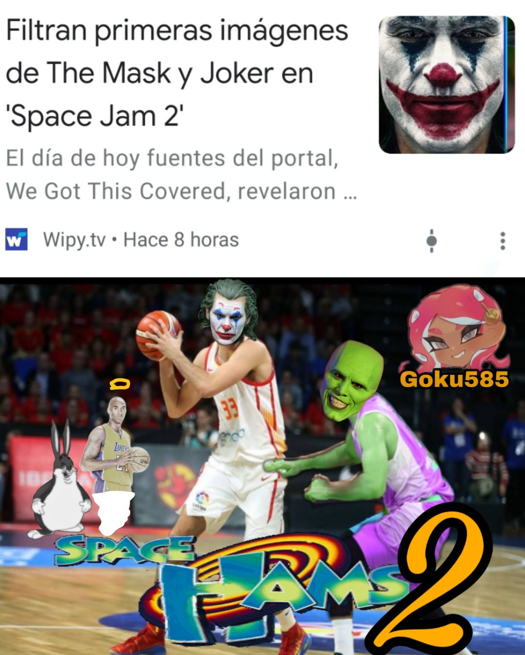 Space hams - meme