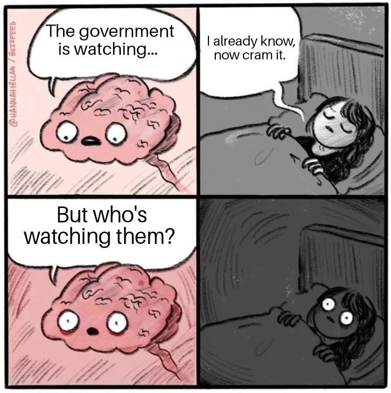 The watchers - meme