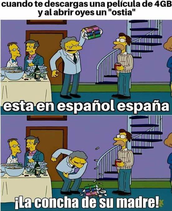 Pinches españoles - meme