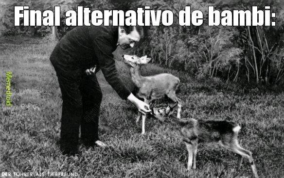 Y adi bambi se convirtio en reich marshal - meme