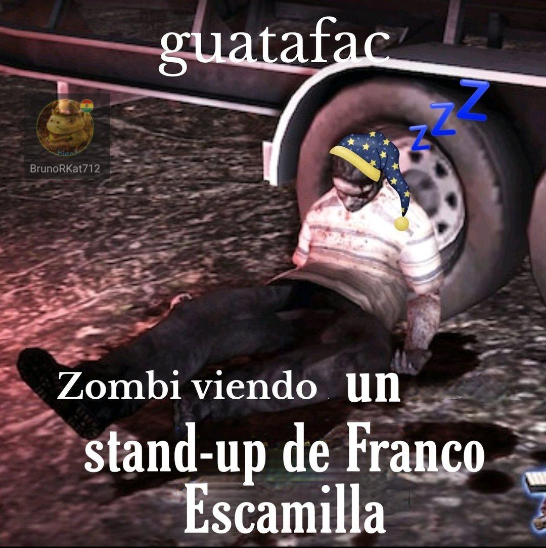 Me mostraron un video con los mejores chistes de Franco pero me parecieron muy normies incluso para los normies :wojak: - meme