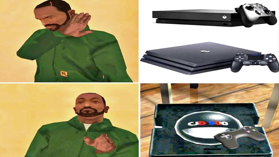 Obviamente esa es la mejor consola de la historia - meme
