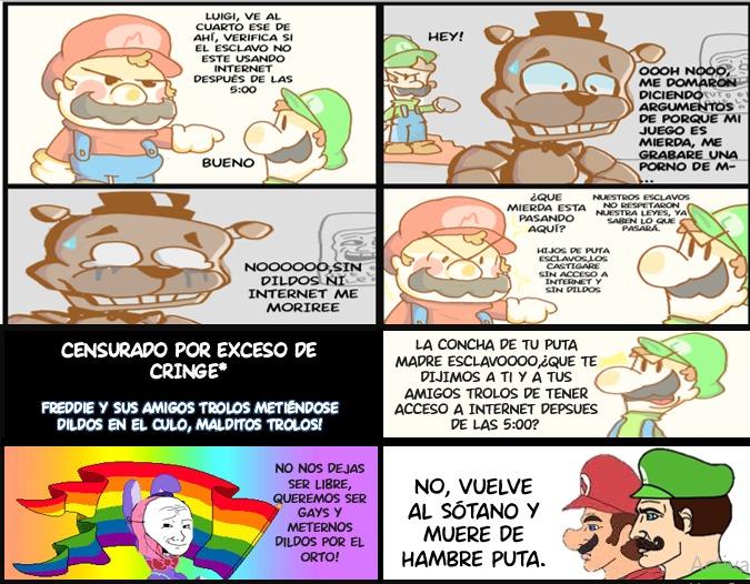 Mario y luigi chad :chad: - meme