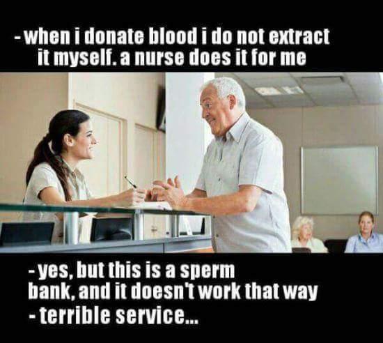 Self service - meme