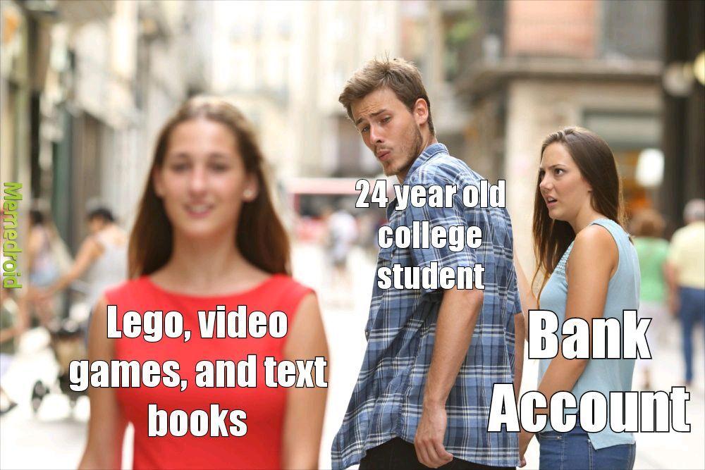 day 1 of semester - meme