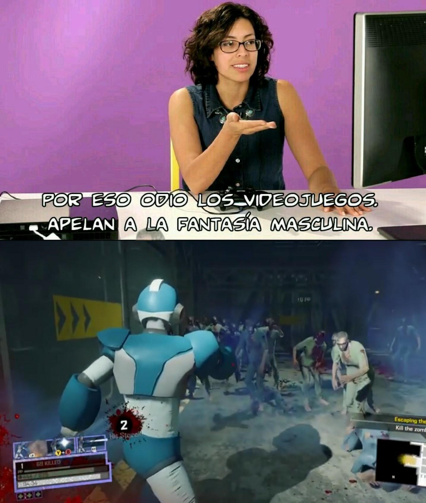 Megaman en Dead rising 4 - meme