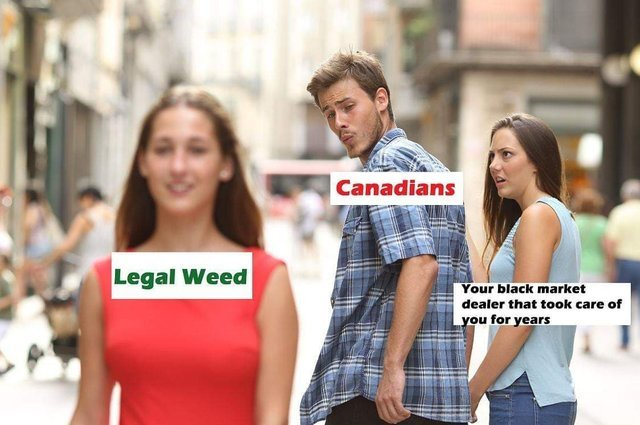 What will Canadian drug dealers sell now? - meme