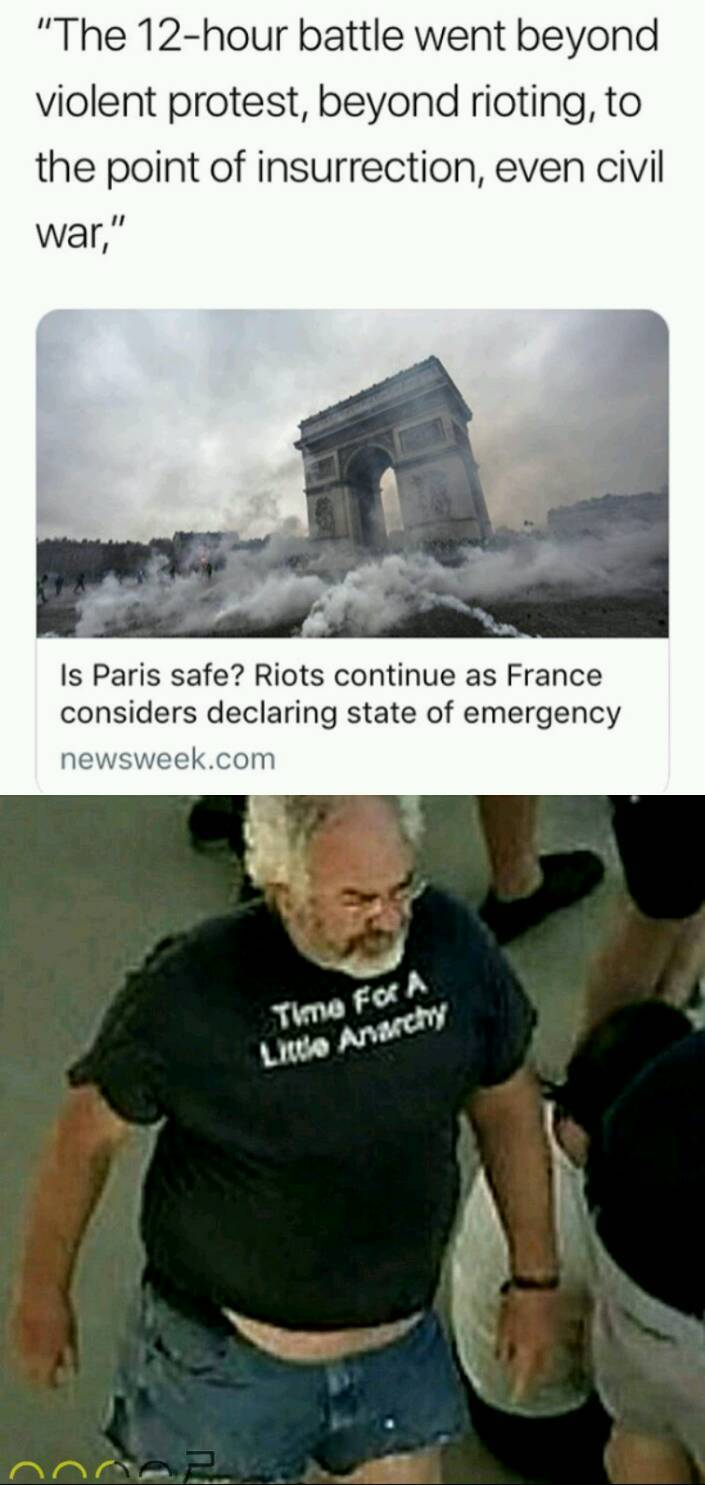 The French are at it again - meme