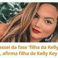 Filha da Kelly Key