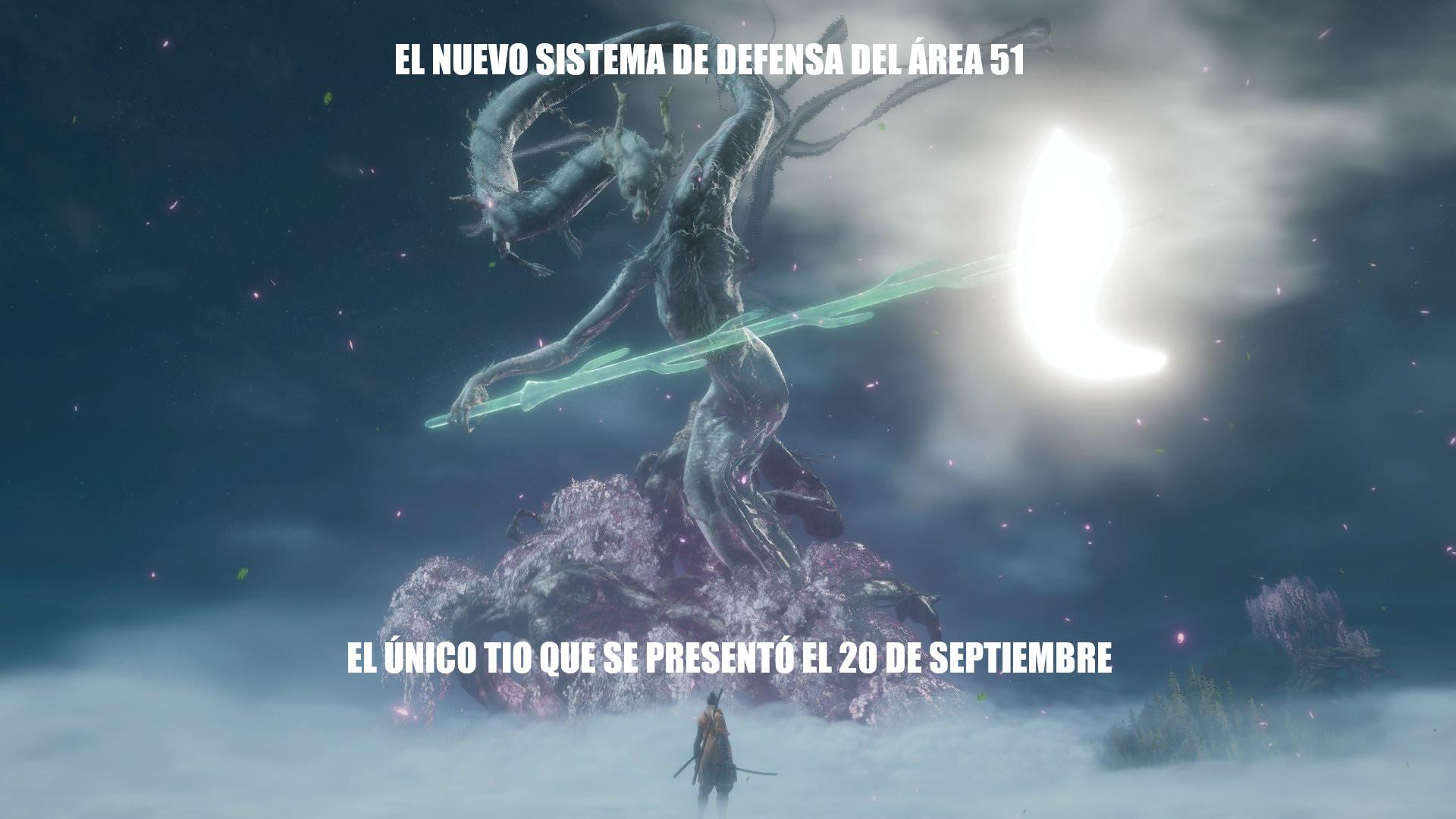 El título pasa de presentarse el 20 de septiembre - meme