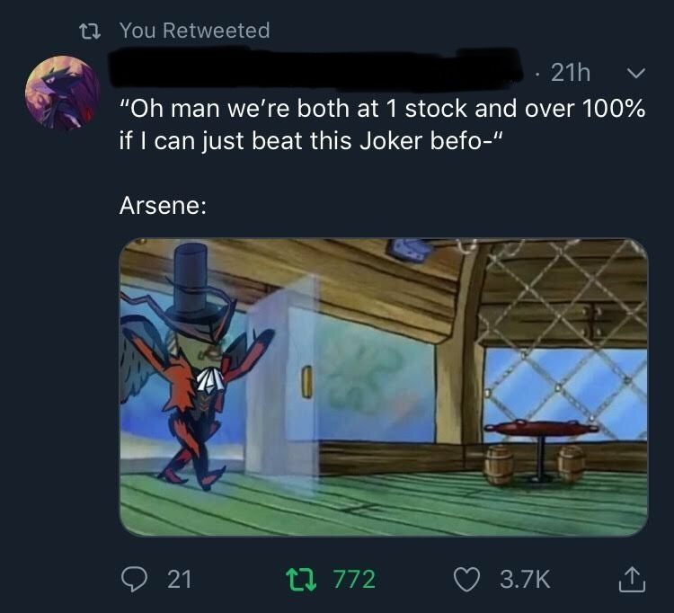 ARSENE - meme
