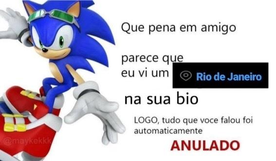 Carioca nem é gente - meme
