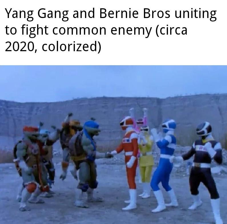 Bernie Bros hehe - meme