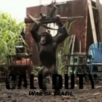 Call of duty: war of brazil - meme