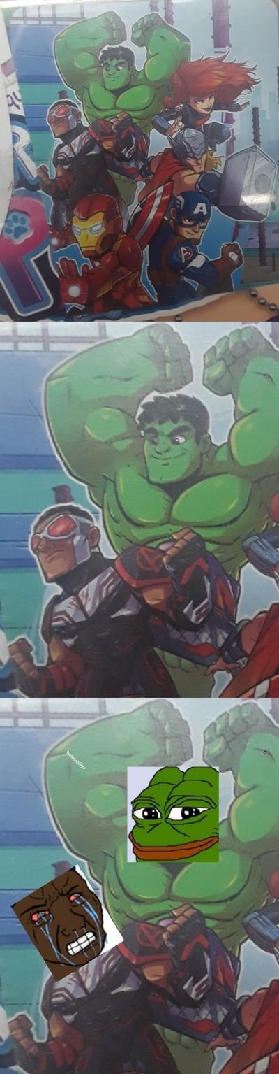 Based hulk - meme