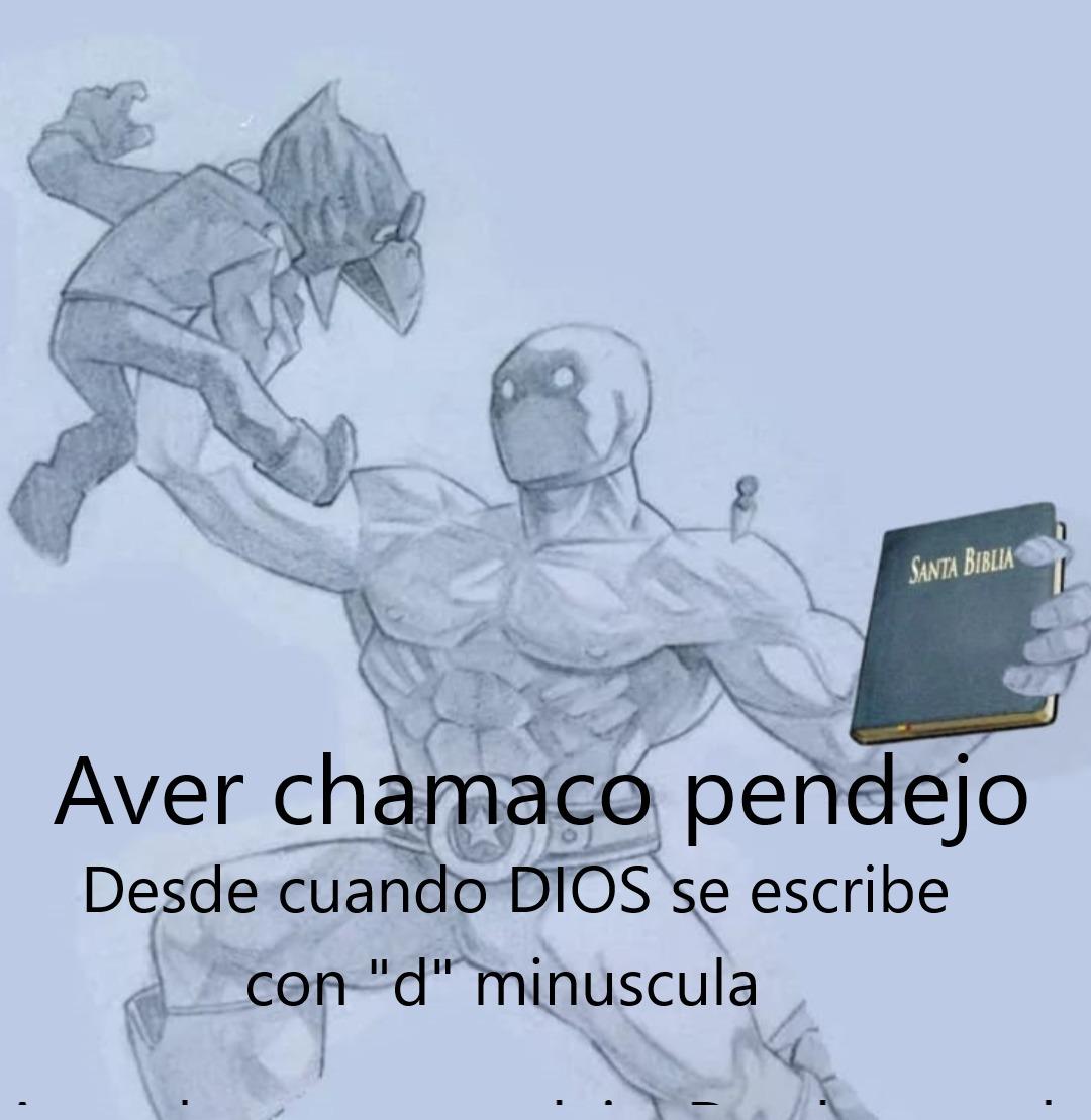Profesores de Religion - meme