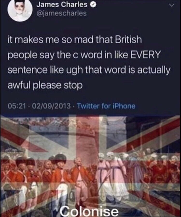 (Rule Britannia plays) - meme