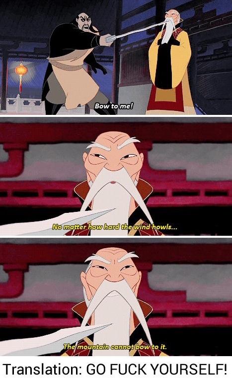 Badass grandpa - meme