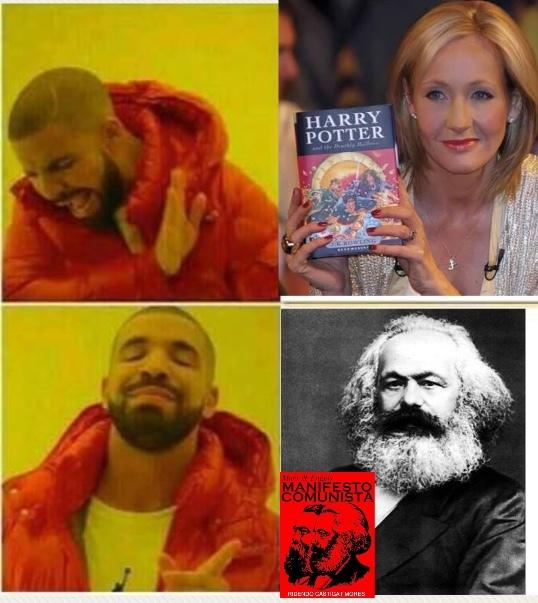 Autores de ficção - meme